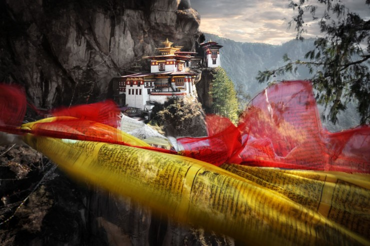 Prayer Flags and The Tigers Nest