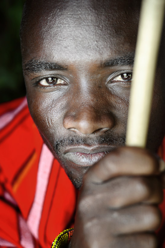 Masai Warrior Portrait 2