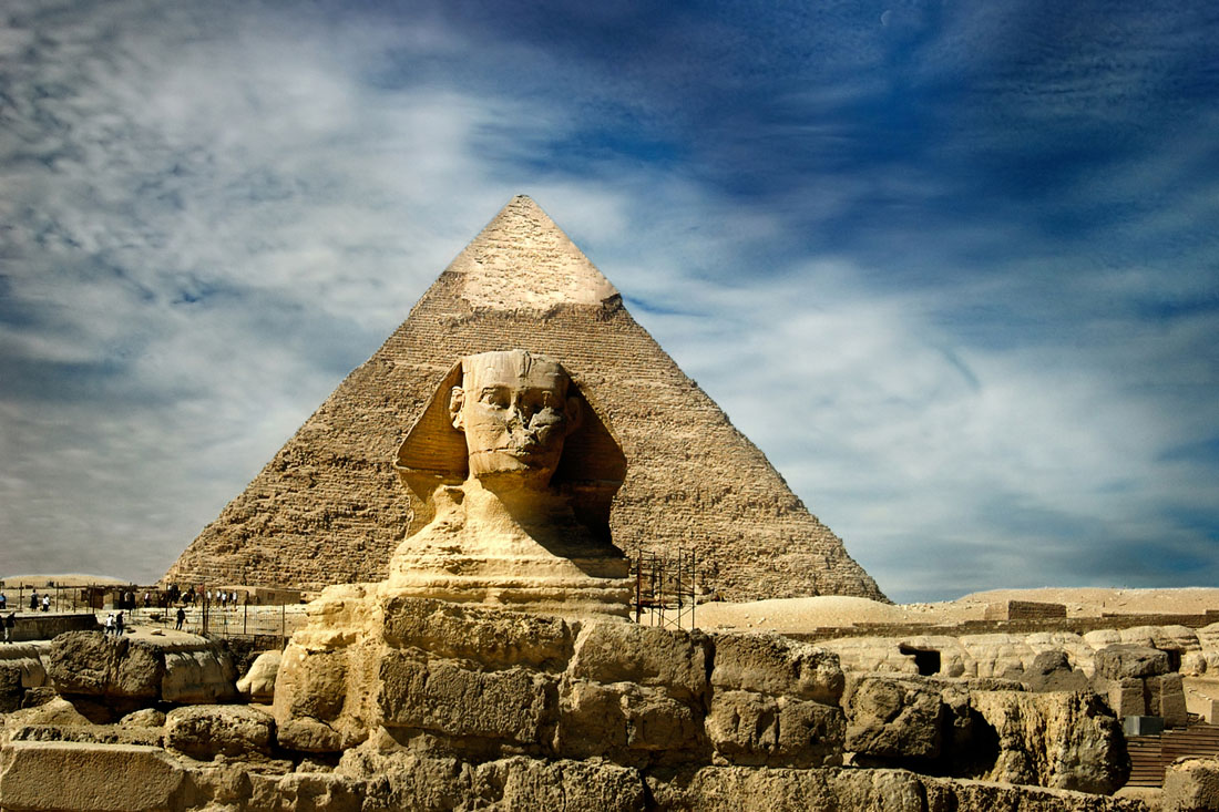Ancient Egypt National Geographic >> Giza - David Lazar
