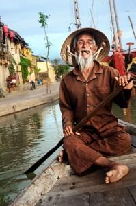 Vietnamese Boatman