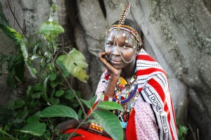 Masai Lady Portrait 2