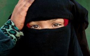 Child in a Burka