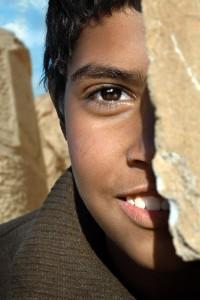 Egyptian Half Portrait
