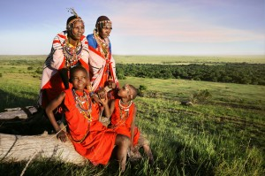 Masai Women and Children