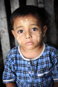 Burmese Boy Portrait 2