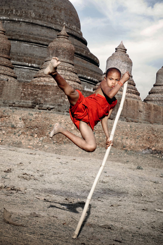 Novice Monk Action Hero