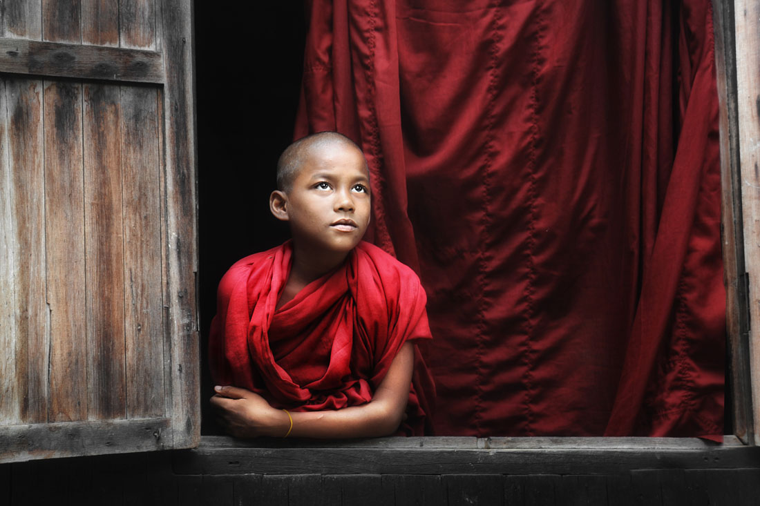 Monk at the Window
