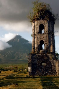 Volcano and Ruins