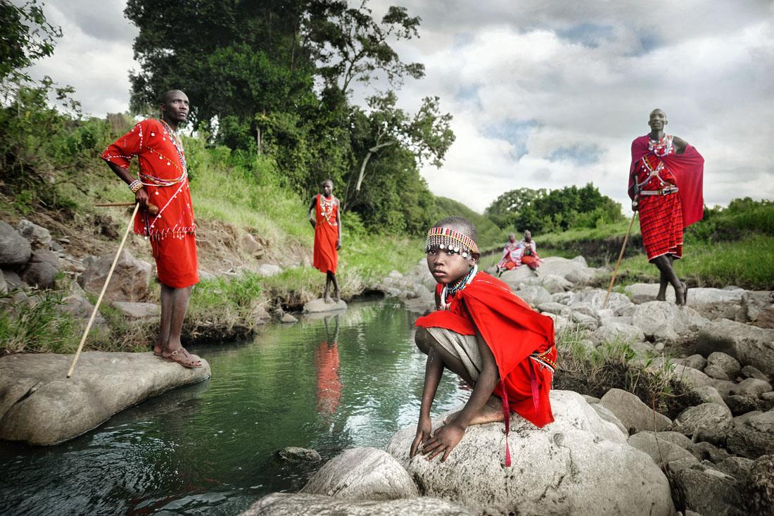 One Day A Masai Warrior