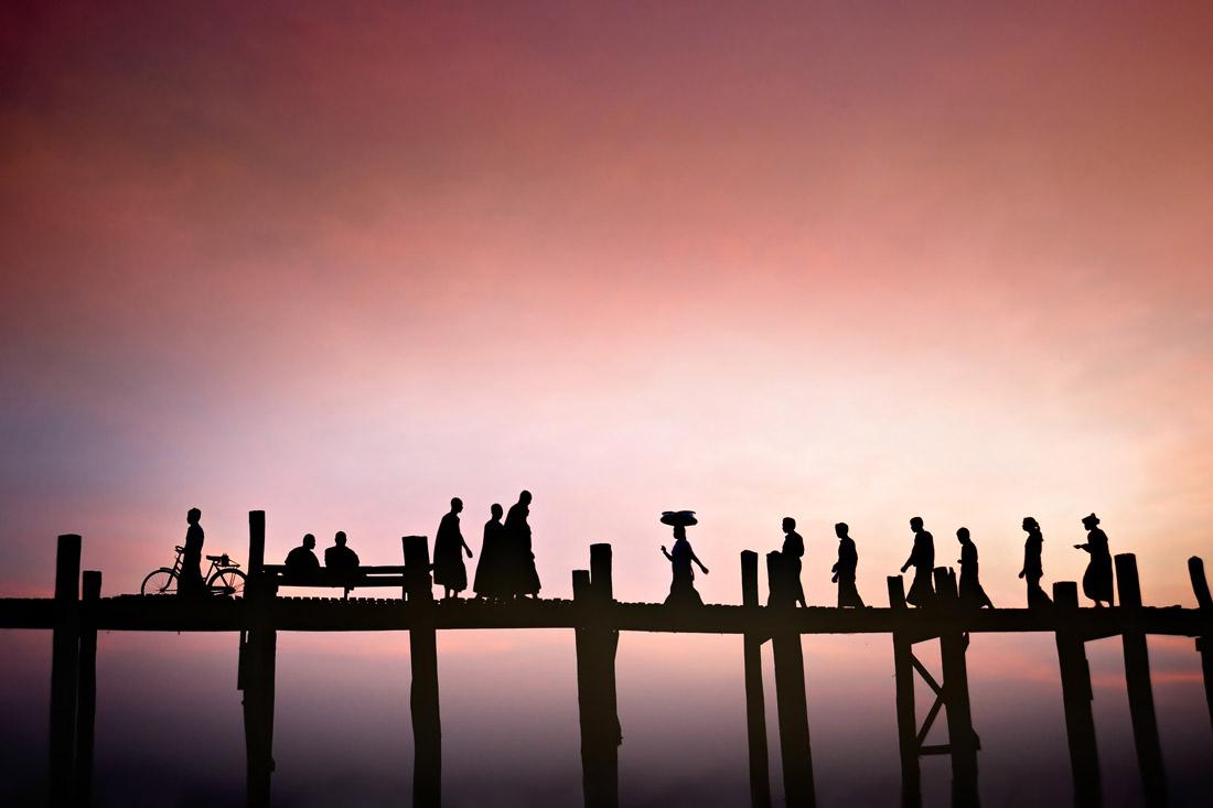 Bridge Silhouettes 1 - David Lazar