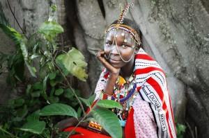 Masai Lady Portrait 2