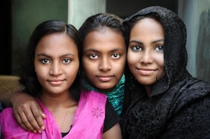 Three Ladies from Dhaka