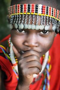 Masai Boy Portrait