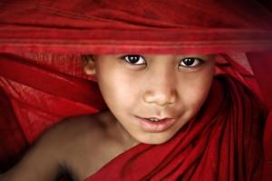 Peeking Through the Robes