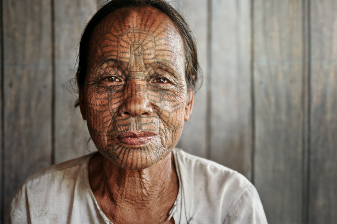 Tattooed Face 1