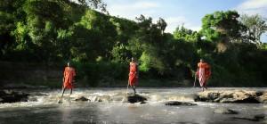 Masais in the River