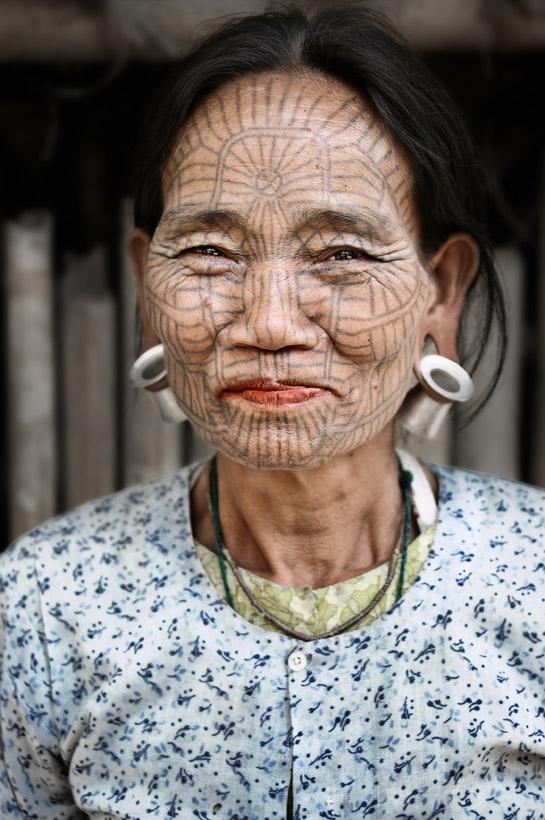 Tattooed Face 2