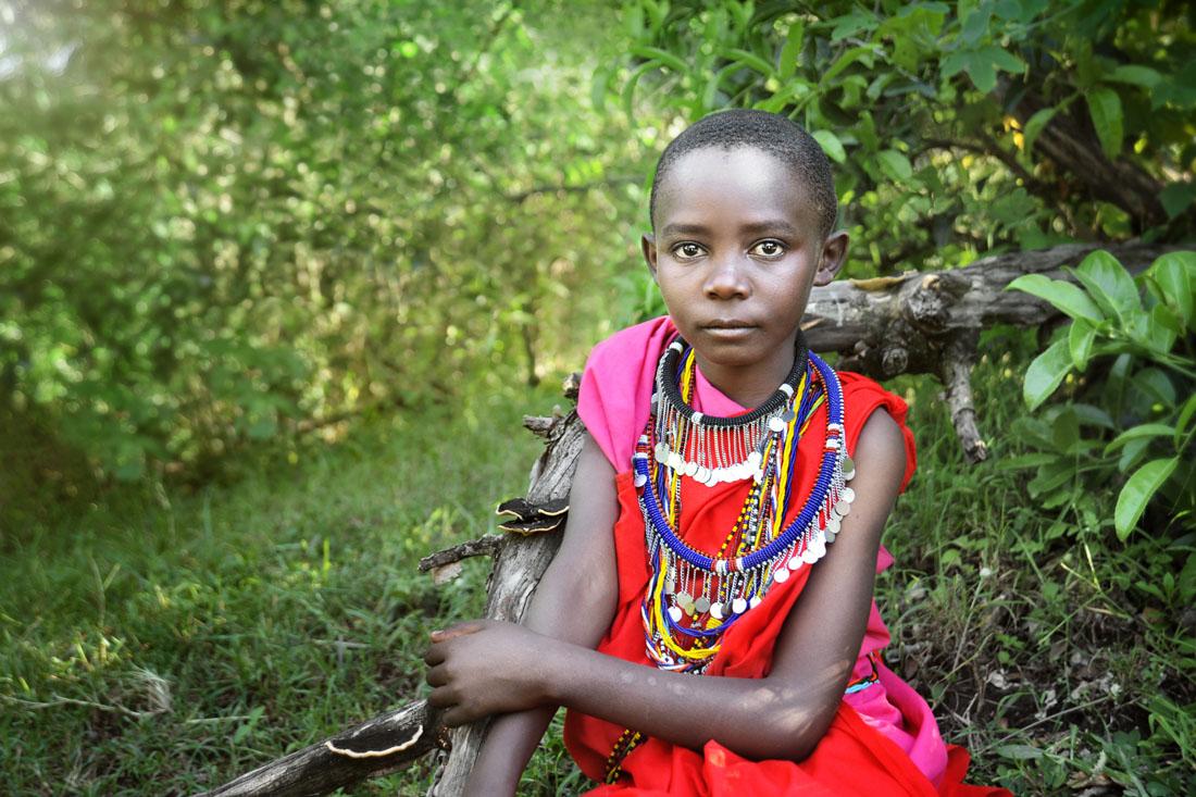 Masai Boy Portrait 2