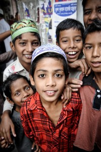 Boys from Rajshahi