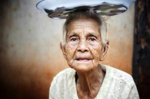 Burmese Lady Portrait 1