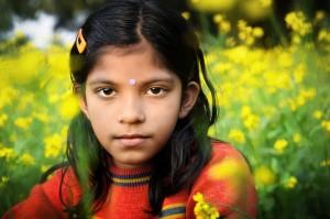 Portrait in Flowers 2