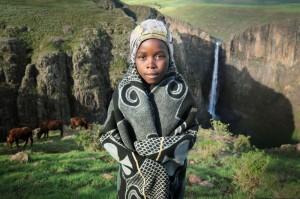 Lesotho Cow Herder